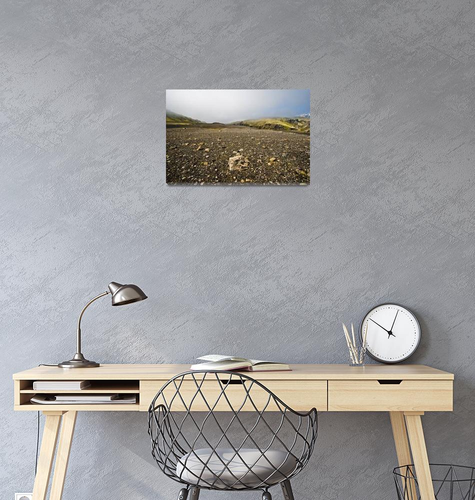 """""""Icelandic country side""""  (2008) by solvi"""