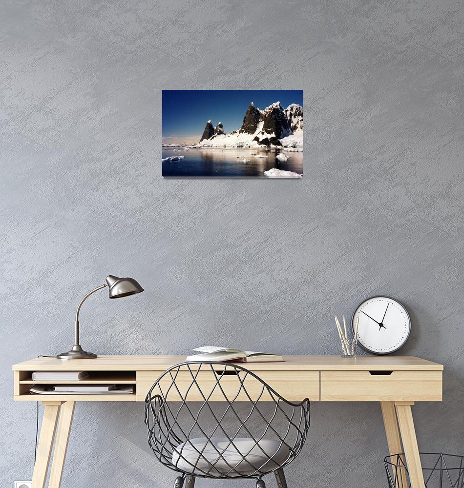 """Antarctica Mountains""  by AnnTuck"
