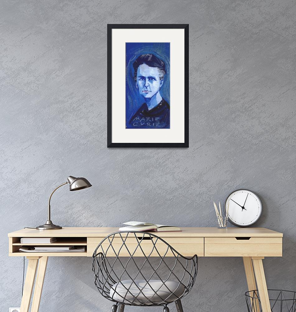 """""""Marie Curie""""  (2005) by AnnHuey"""