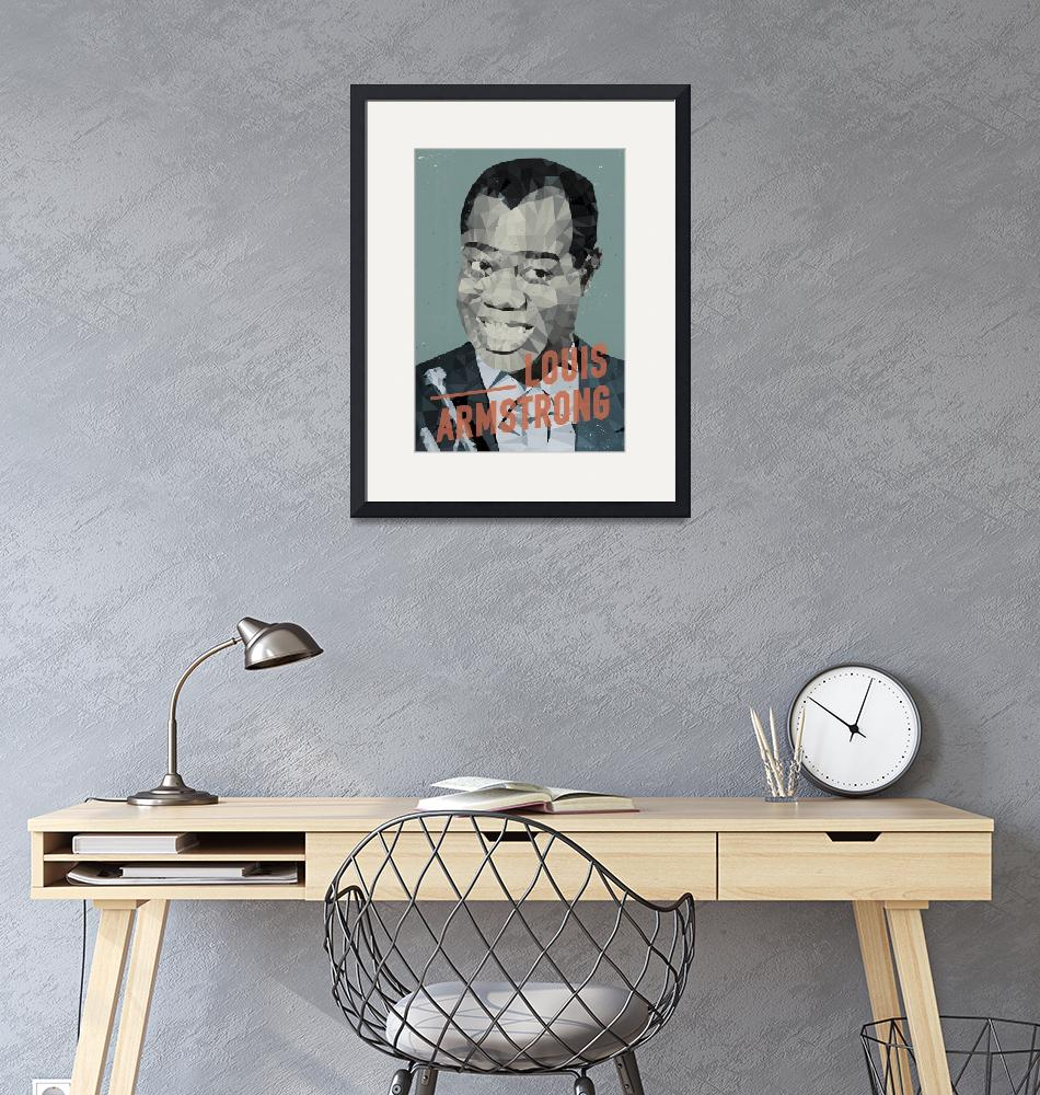 """Louis Armstrong""  by artlicensing"