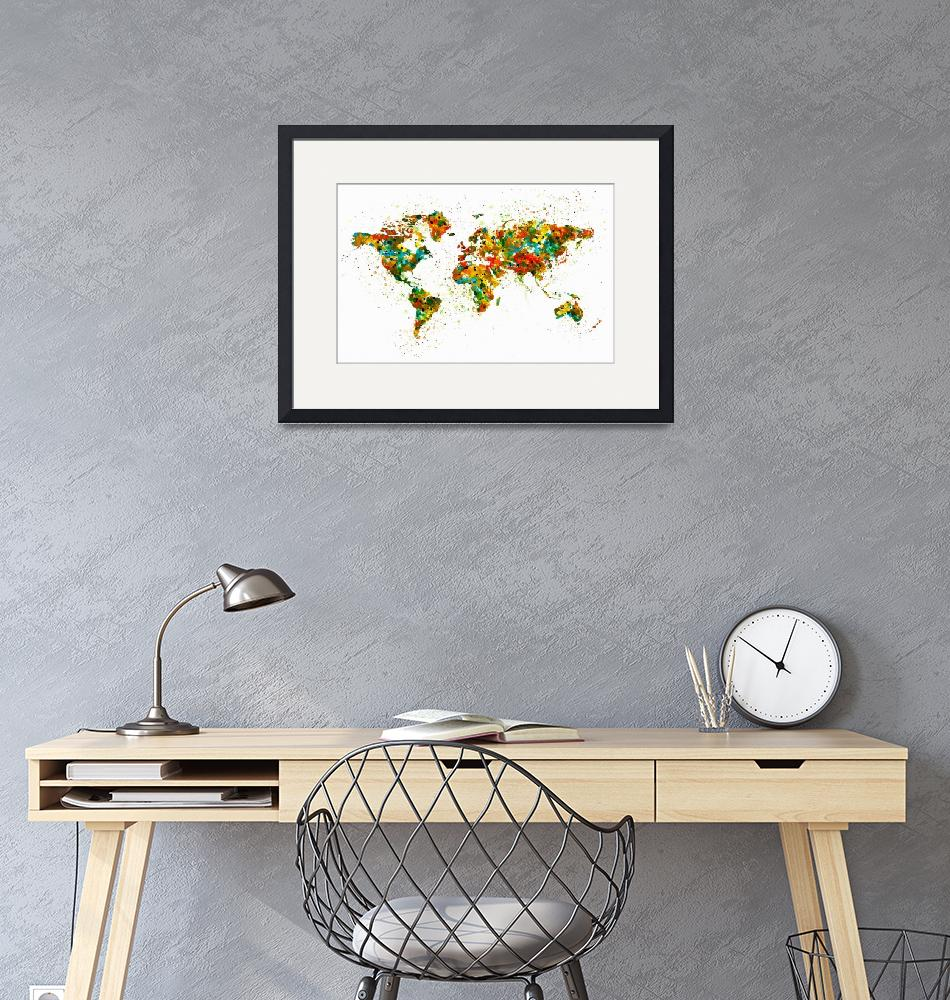 """""""Map of the World""""  (2015) by MarianVoicu"""