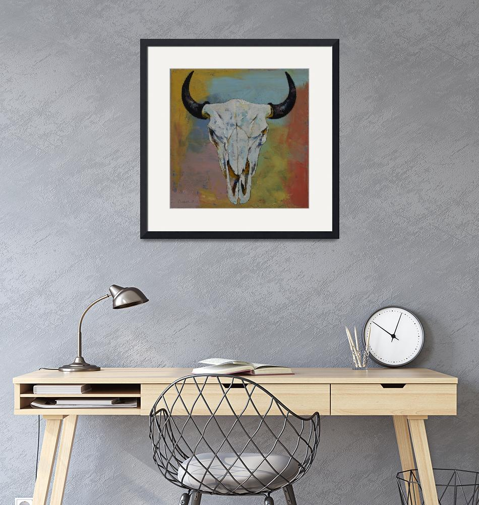 """""""Bison Skull""""  by creese"""