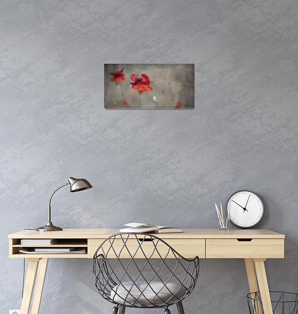 """Red Poppies""  (2018) by Piri"