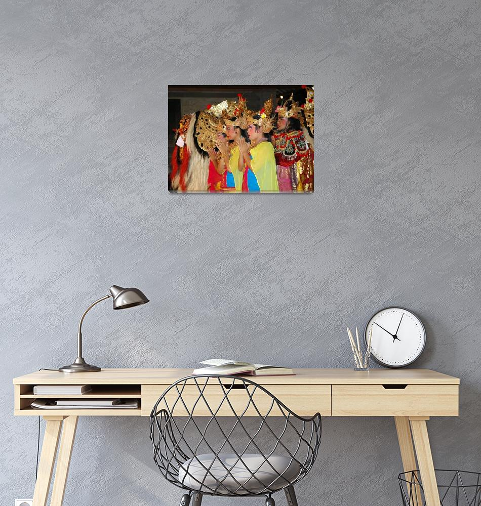 """""""Legong Dancers""""  (2009) by wildmilne"""