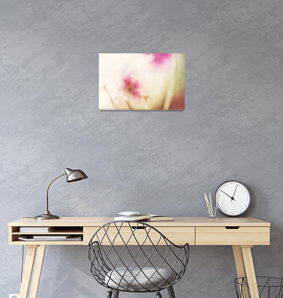 """""""Dream Flower Abstract 1 of 2""""  (2013) by NatalieKinnear"""