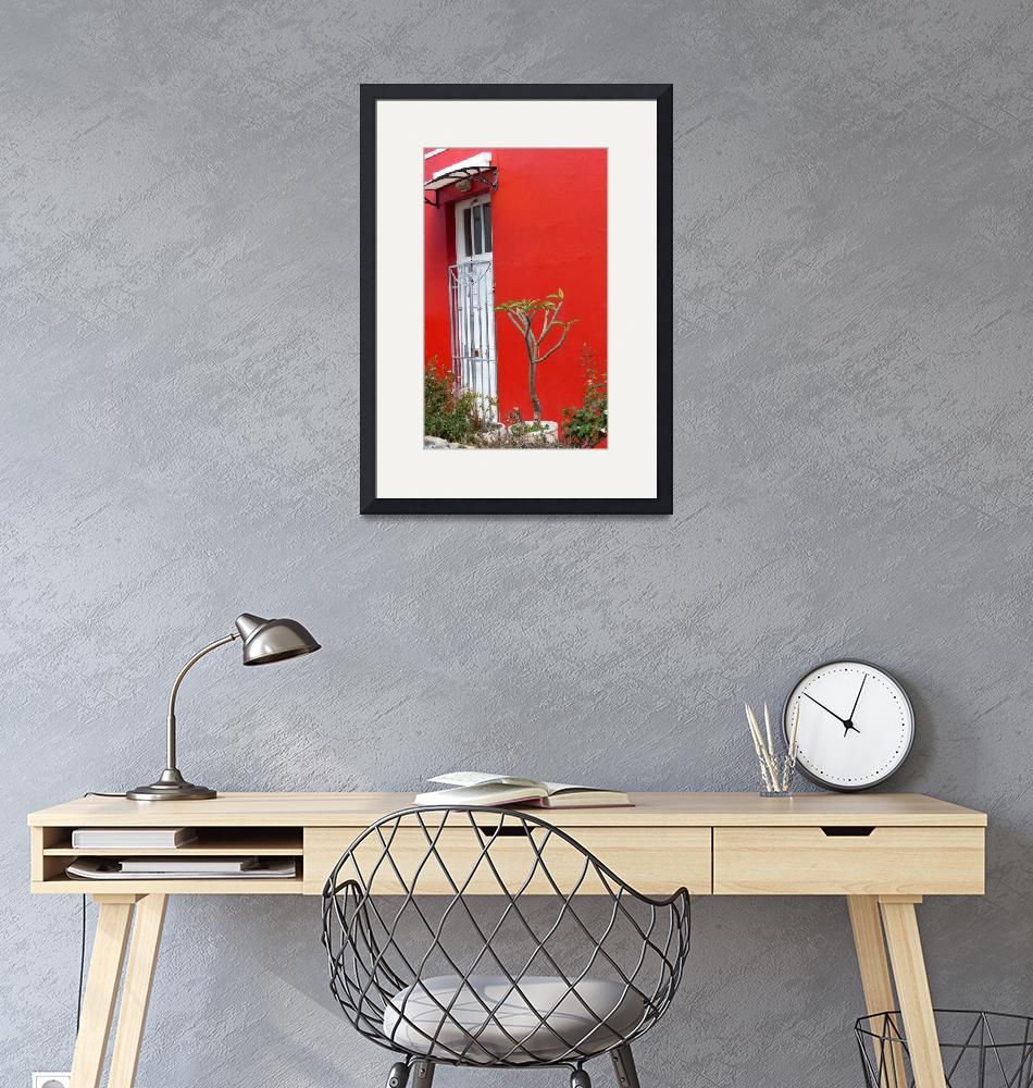 """""""The Red House, Cape Town""""  (2016) by Bailleul"""