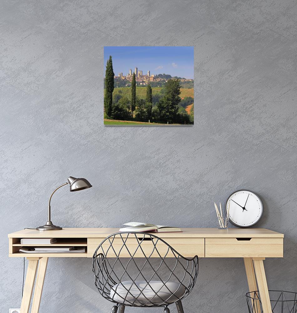 """San Gimignano""  (2010) by Inge-Johnsson"