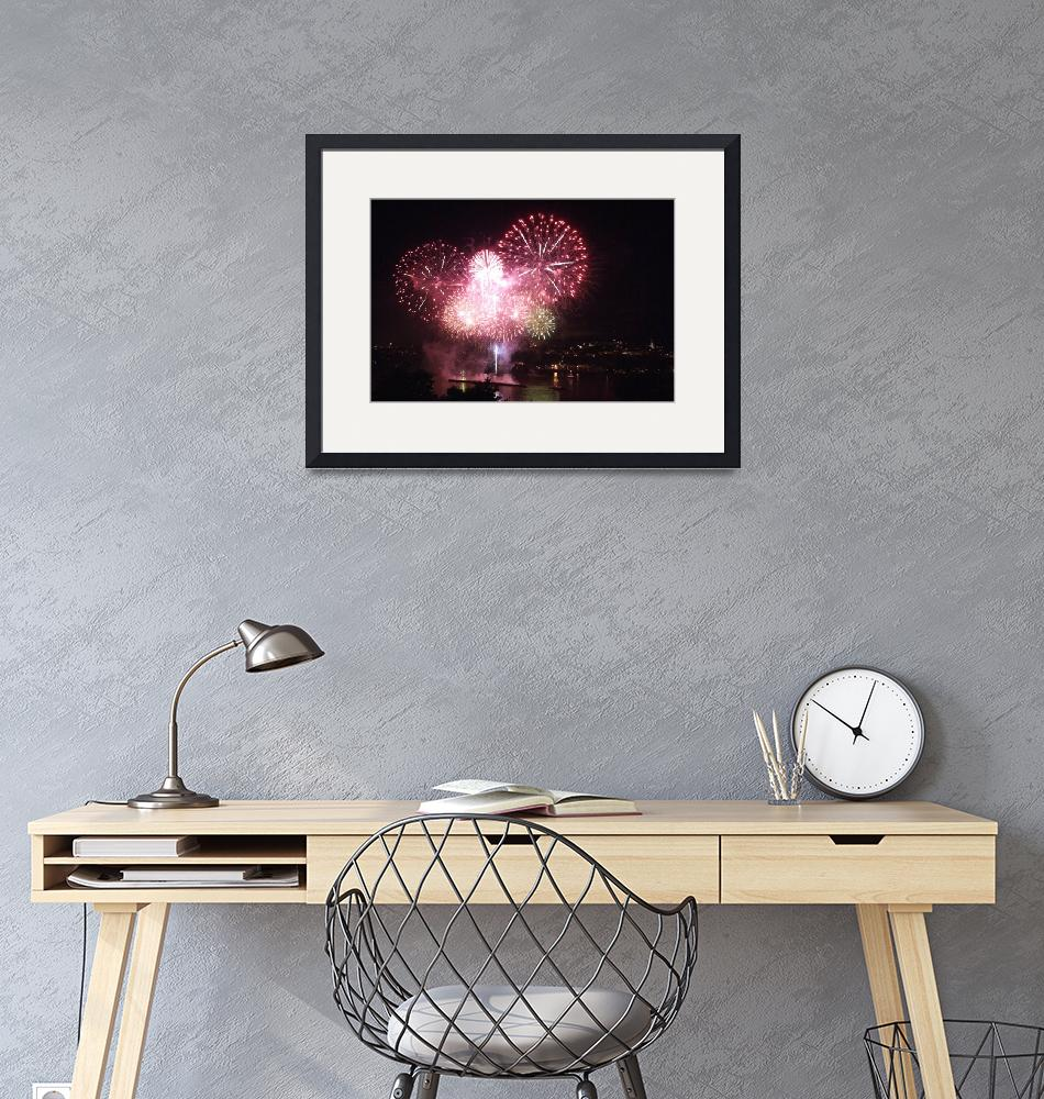 """""""Feux d'artifice/Fireworks""""  (2008) by recto-verso"""