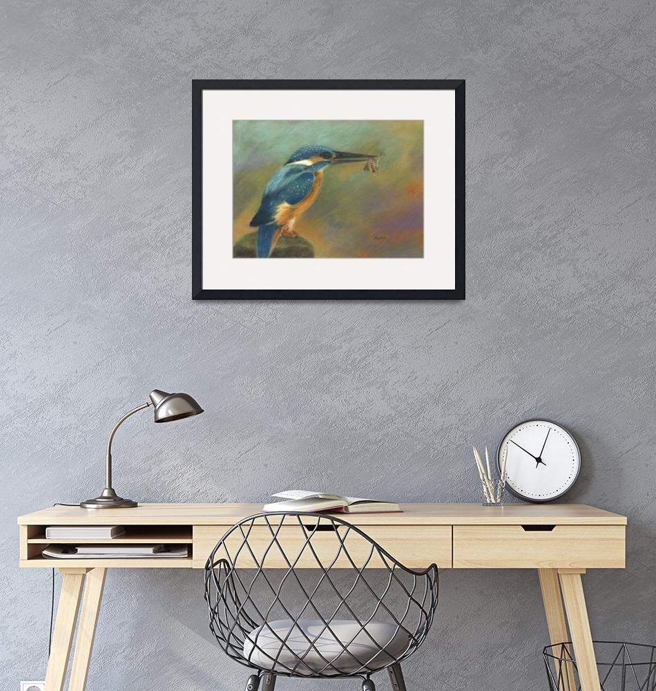 """""""Kingfisher Blues""""  (2014) by 2dogstudio"""