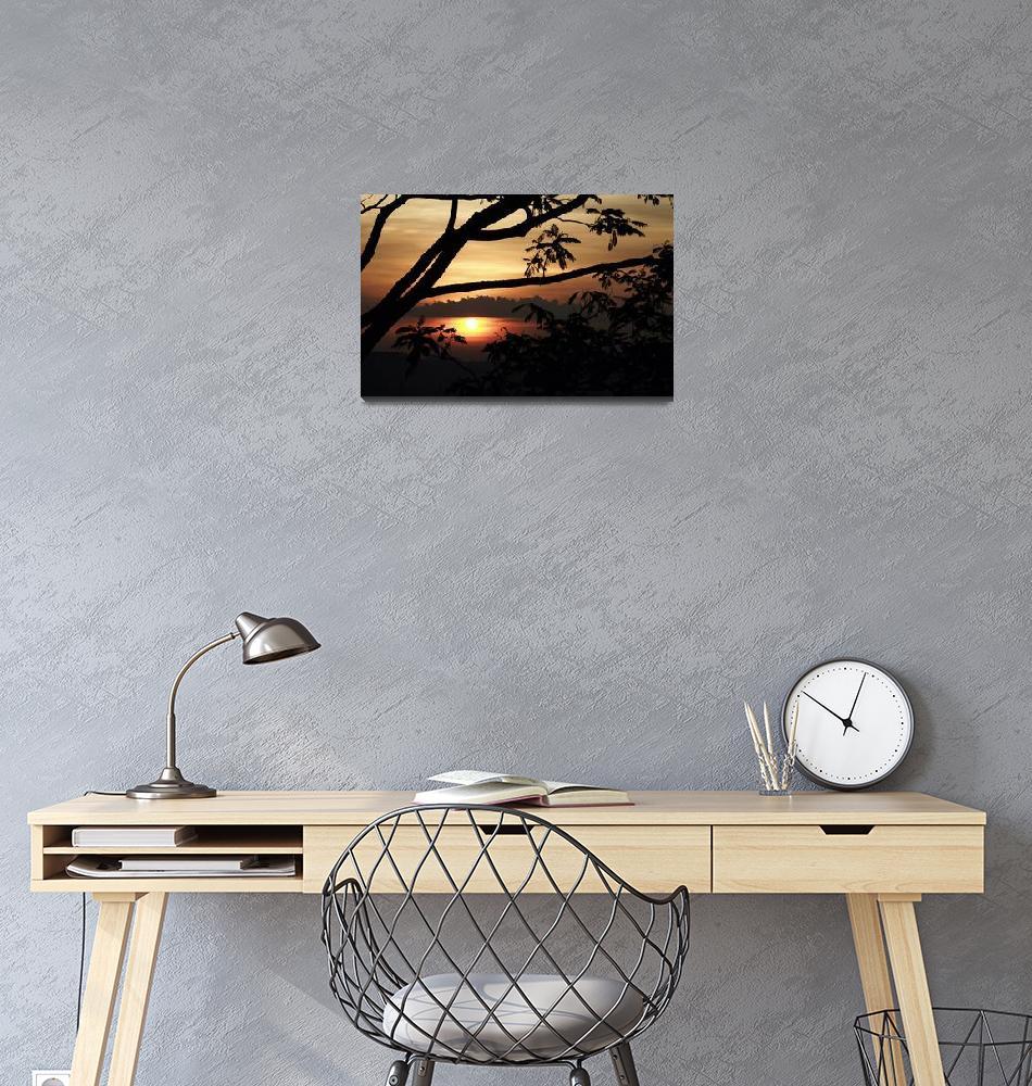 """Sri Lanka sunset 1""  by ebonflow"