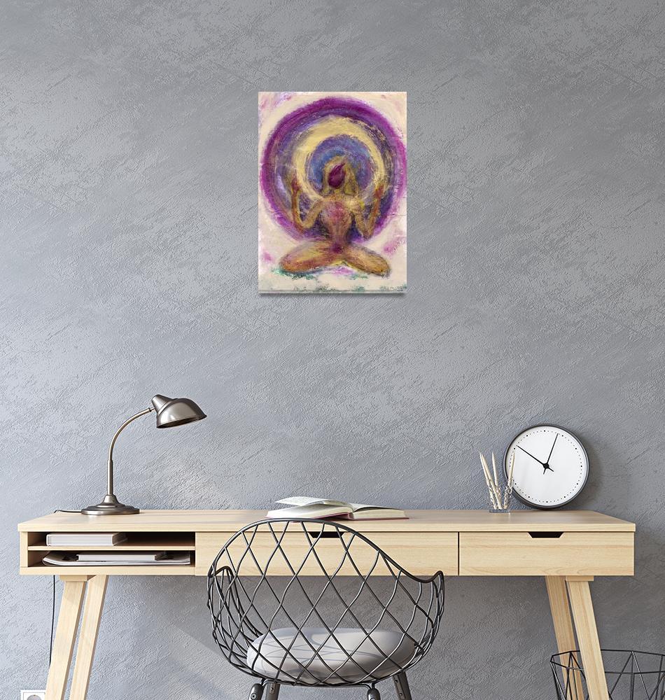 """Abstract Enlightened Female""  by ElenaRay"