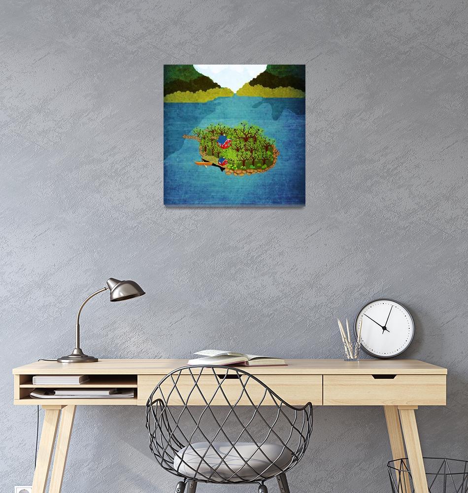 """Norway - Landscape 33""  by Design4uStudio"