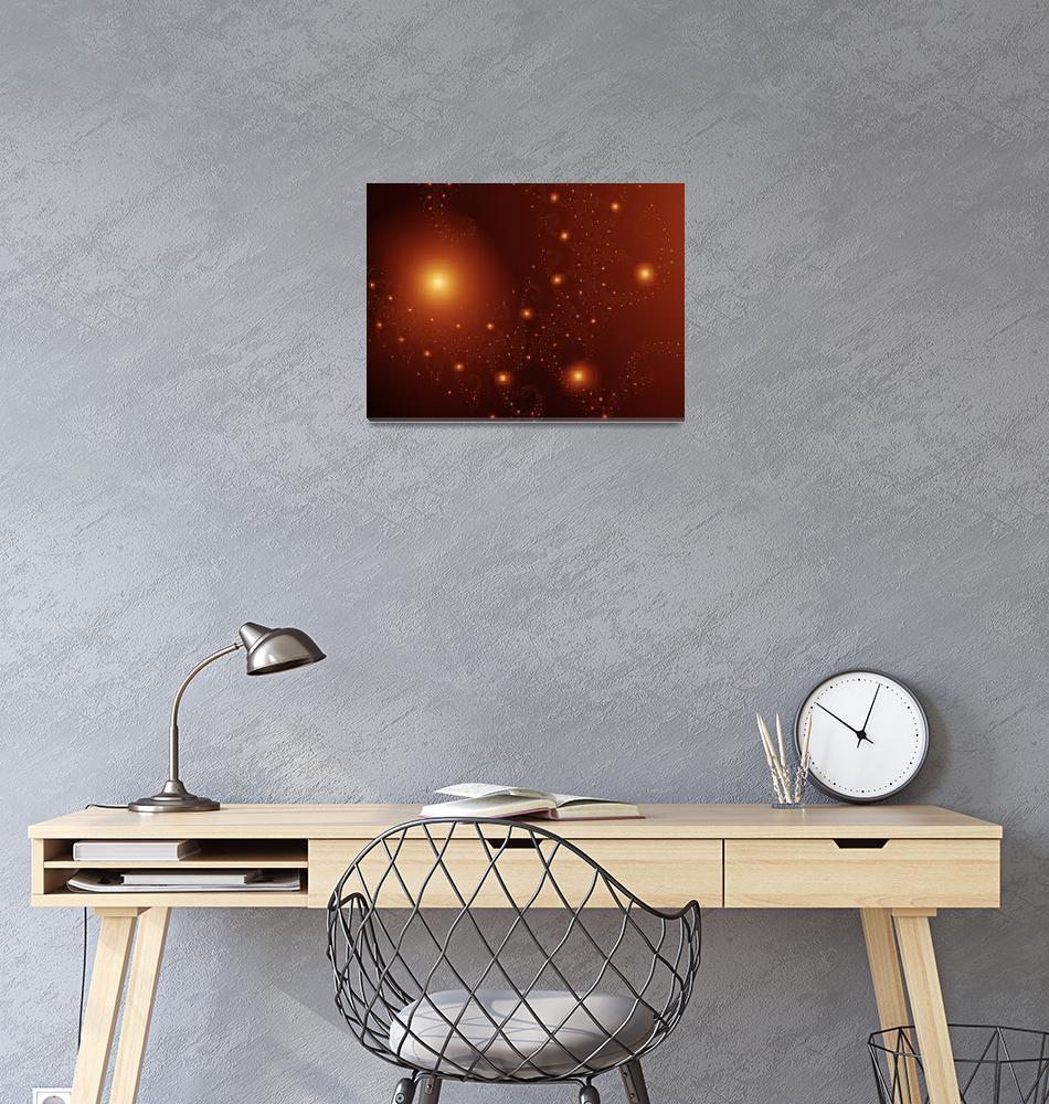 """cosmos""  by fractalartvicky"