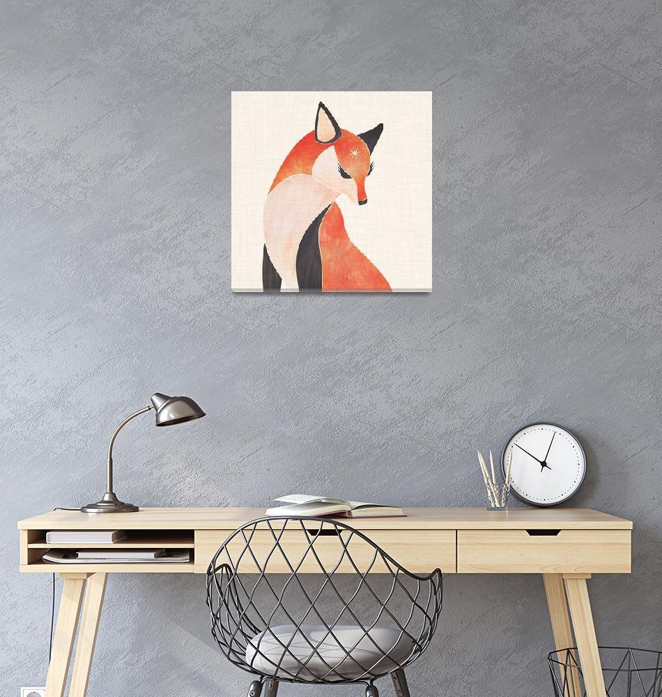 """Wild Fox""  (2018) by moderntropical"