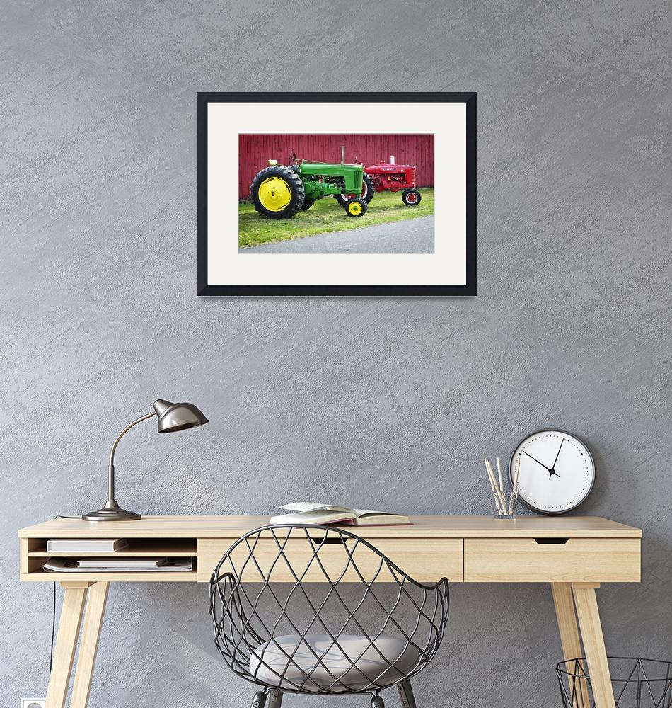 """""""New England Tractors""""  (2015) by LukeMoore"""