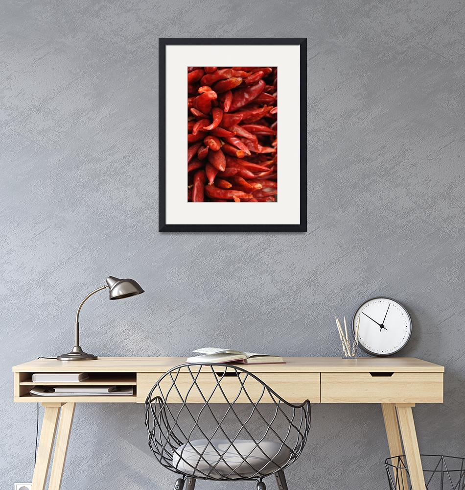 """""""New Mexico Chilis""""  (2012) by Shamaine"""