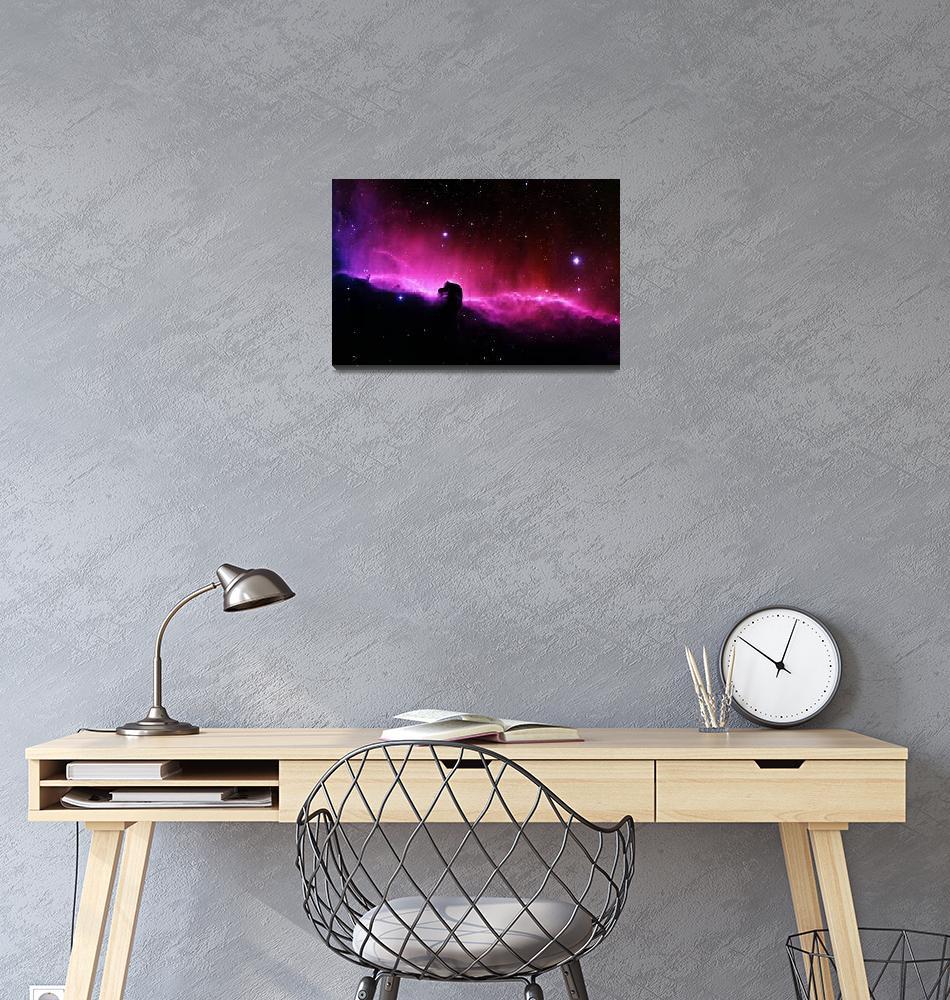 """Horsehead Nebula""  (2010) by ModernArtPrints"