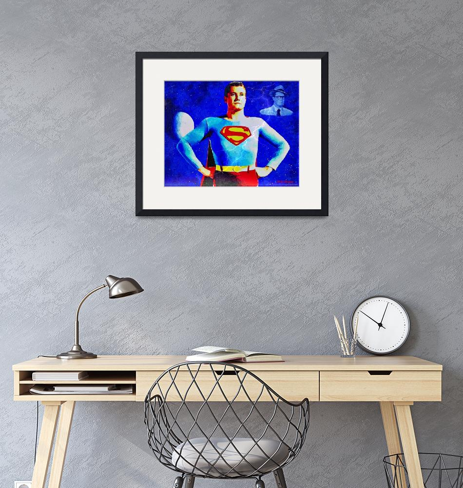 """""""The real Superman""""  (2011) by MGImaging"""