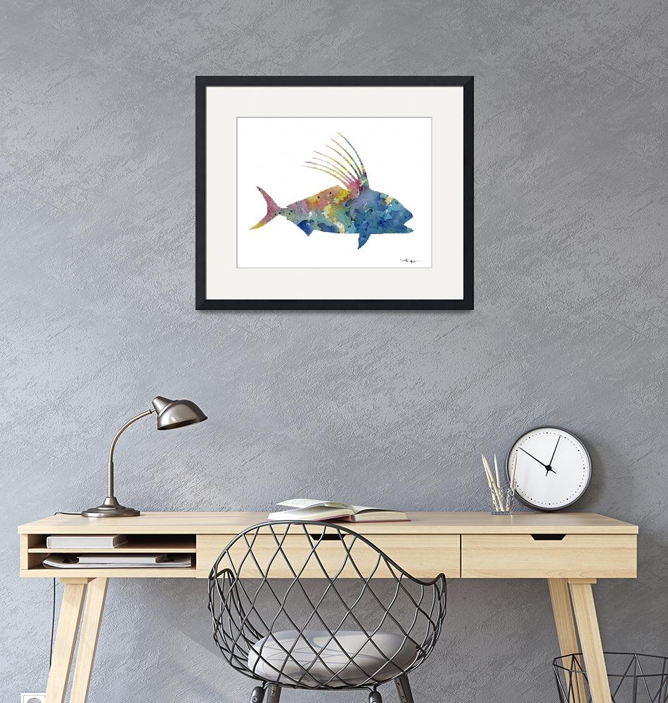 """""""Roosterfish""""  (2017) by k9artgallery"""