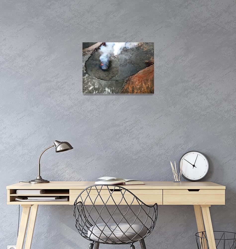 """Kilauea Volcano Eruption (10:56 am) - Big Island,""  by ChrisSeufert"