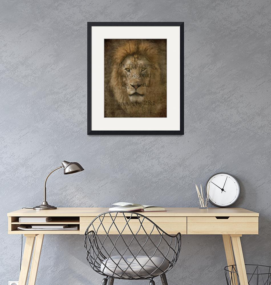 """Bold as a Lion""  (2010) by LoriLindsey"