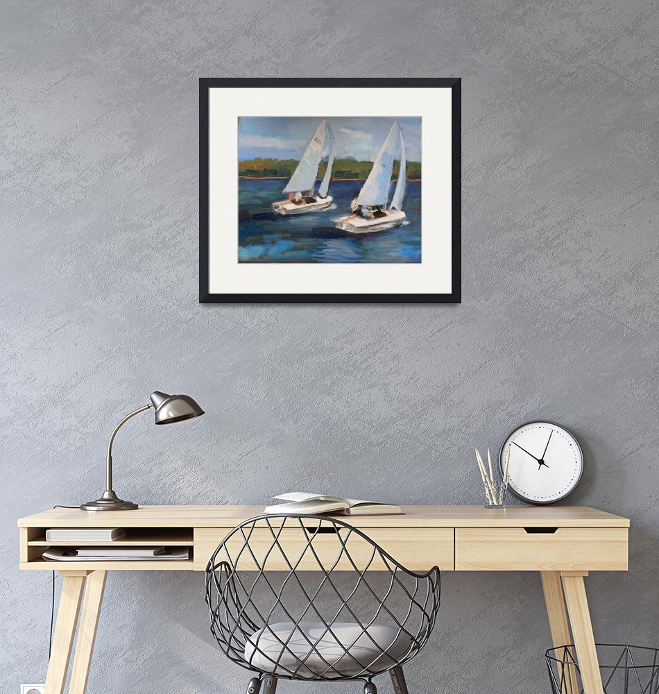 """Regatta""  (2010) by AMcustomArt"