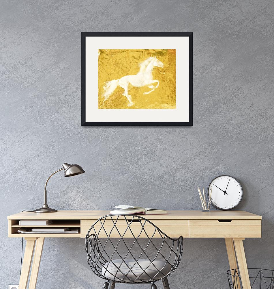 """""""Gold Horse""""  by Aneri"""