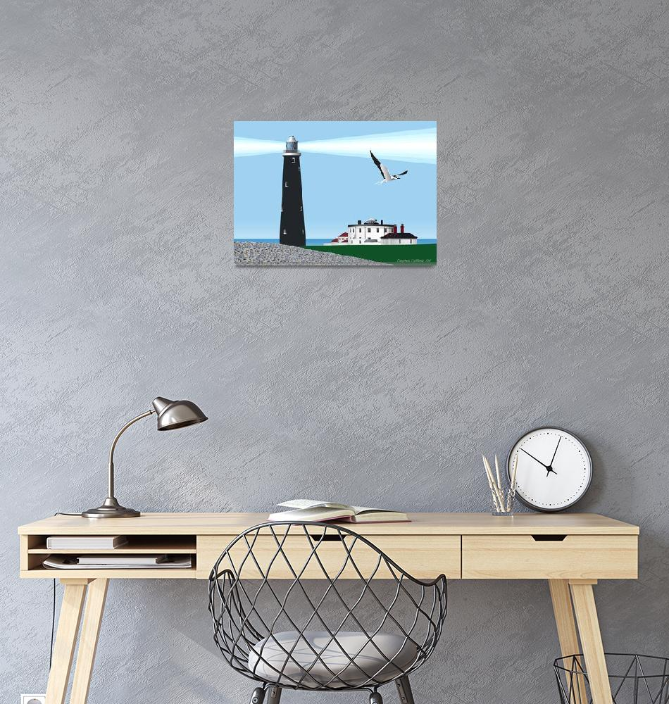 """""""Dungeoness Lighthouse""""  (2011) by RawVista"""