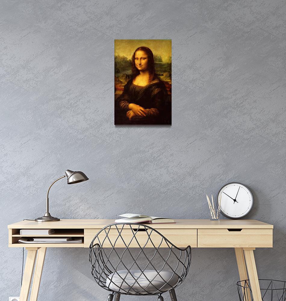 """Leonardo Da Vinci Mona Lisa""  by artpictures"