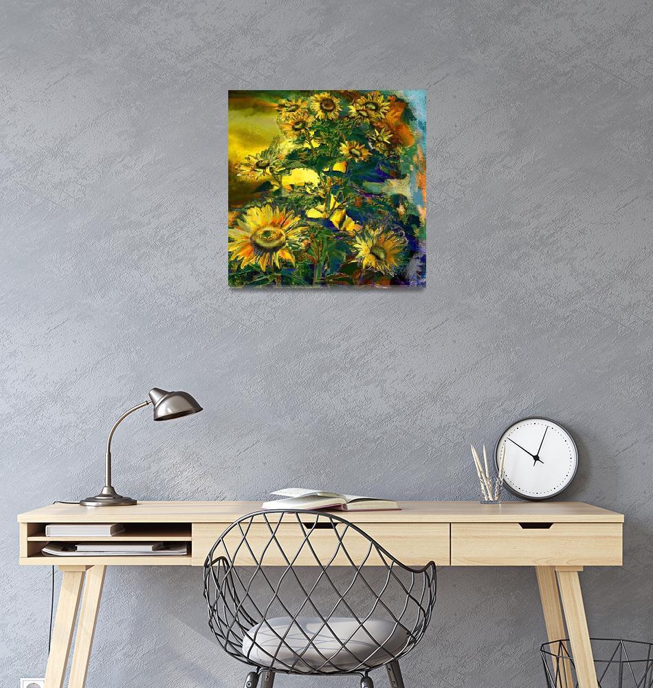 """Sunflowers""  (2004) by ArteSigno"
