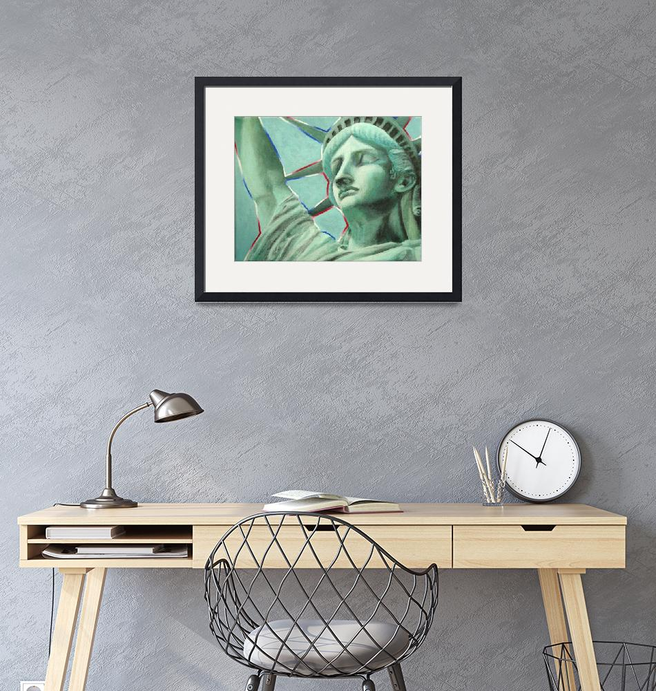 """Lady Liberty""  (2015) by ChristineBrennecke"