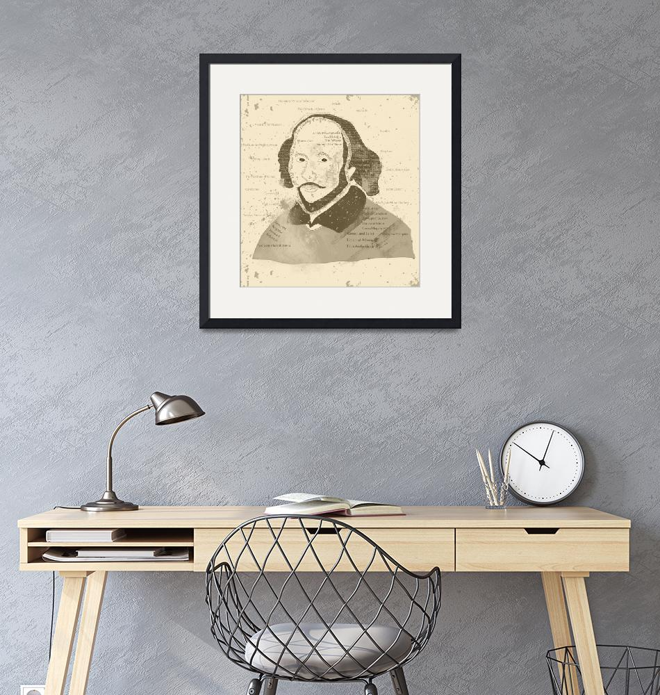 """Shakespeare-Art-Vintage""  (2013) by famenxt"