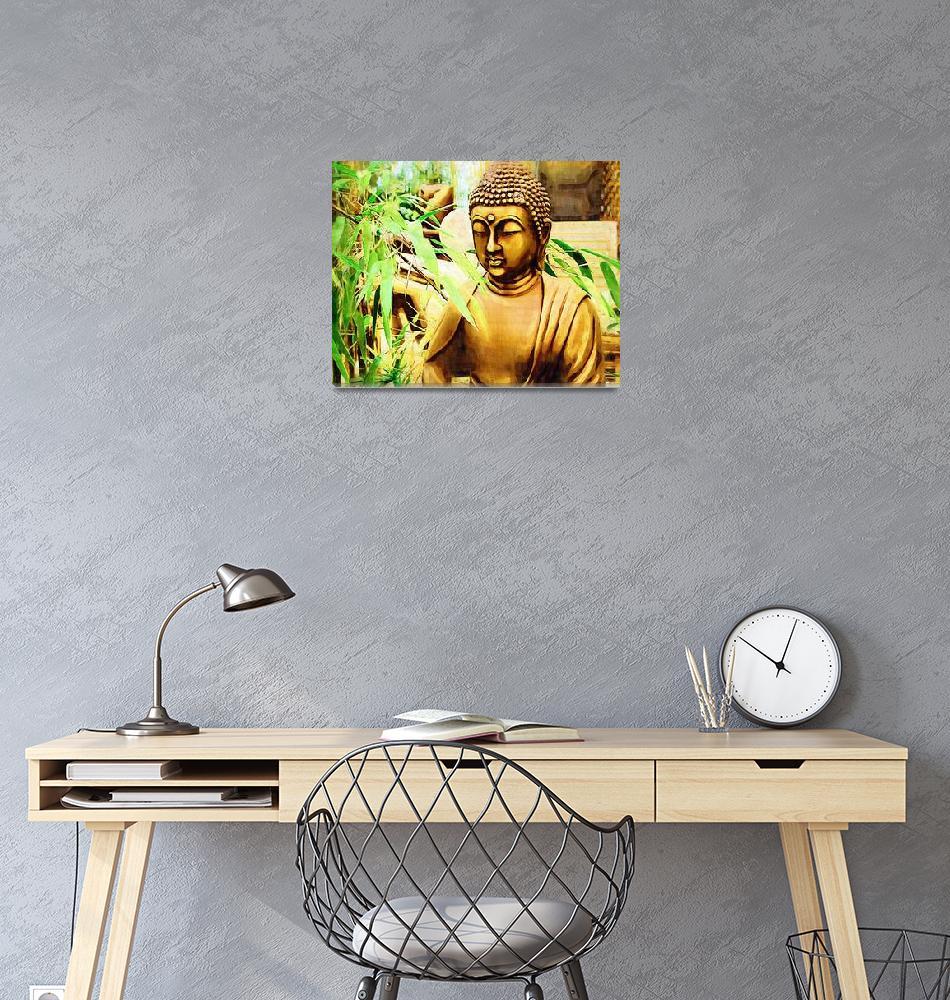 """Zen Buddha""  (2009) by rickimountain"
