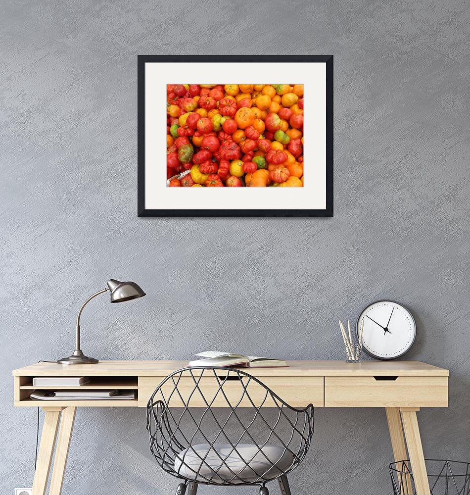 """tomatoes""  (2007) by NickBiscardiArt"