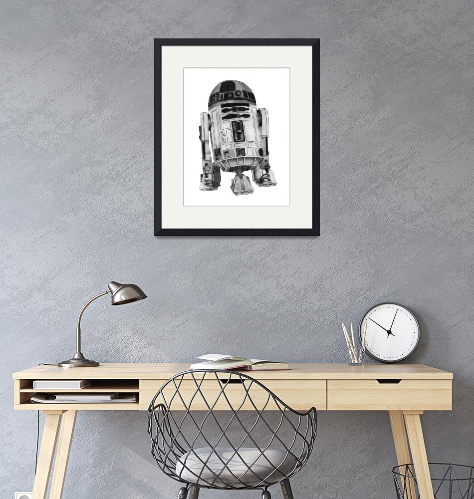 """""""R2-D2""""  (2012) by axemangraphics"""