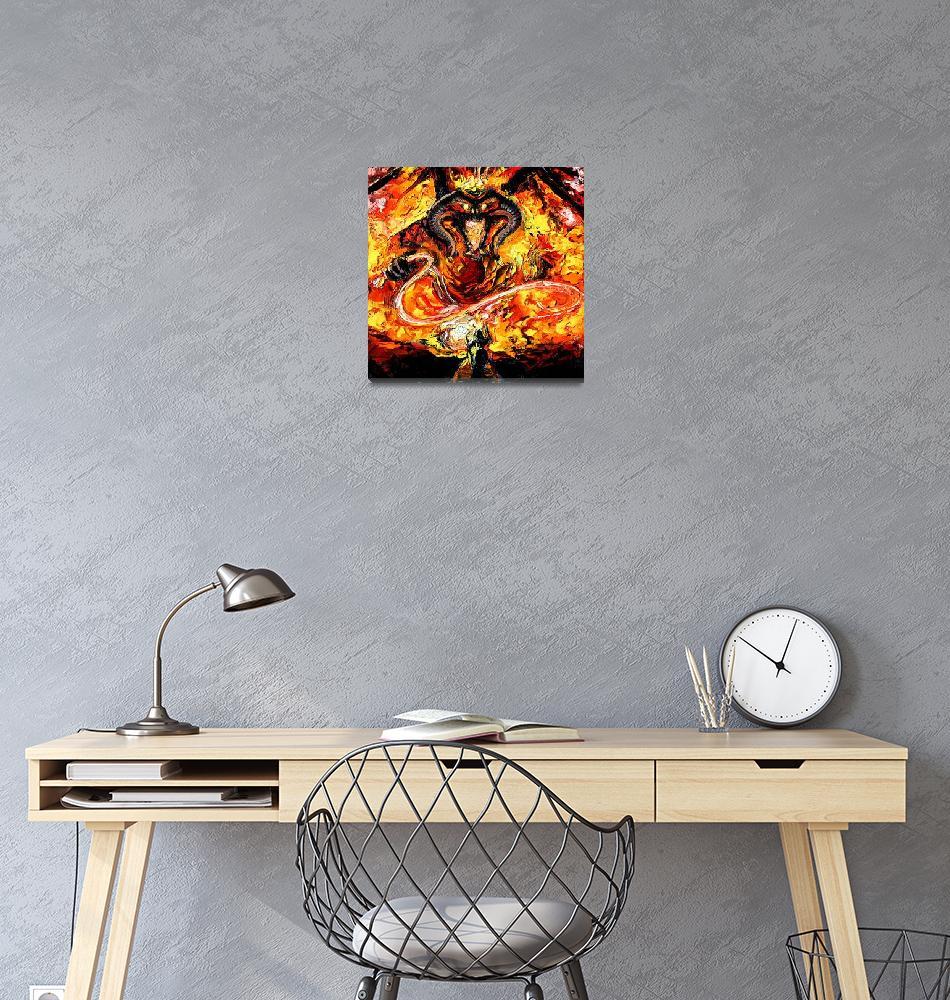 """""""van Gogh Never Passed""""  (2015) by SagittariusGallery"""