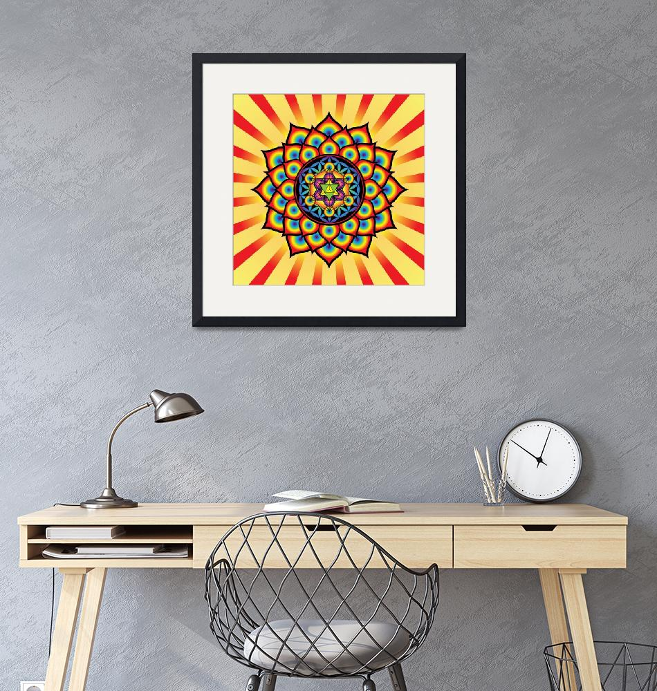 """""""Flower of Life with Metatron"""