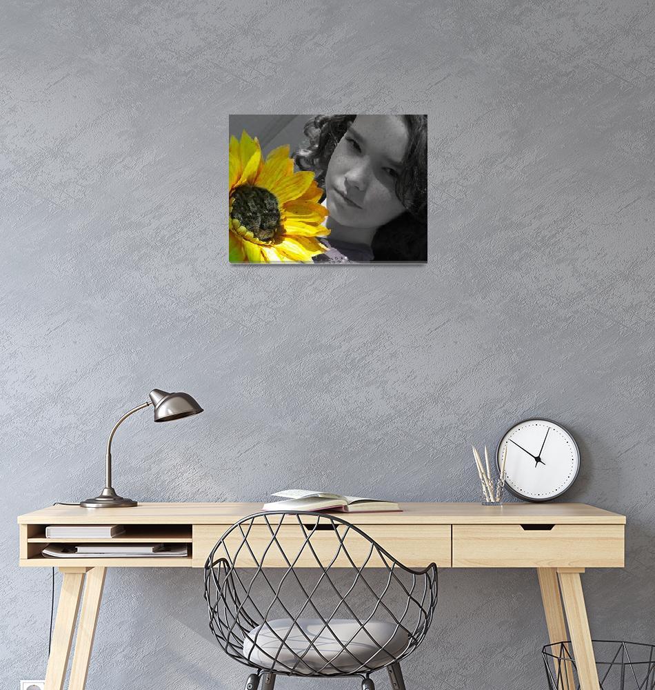 """Girl Sunflower""  (2010) by Eleventeen"