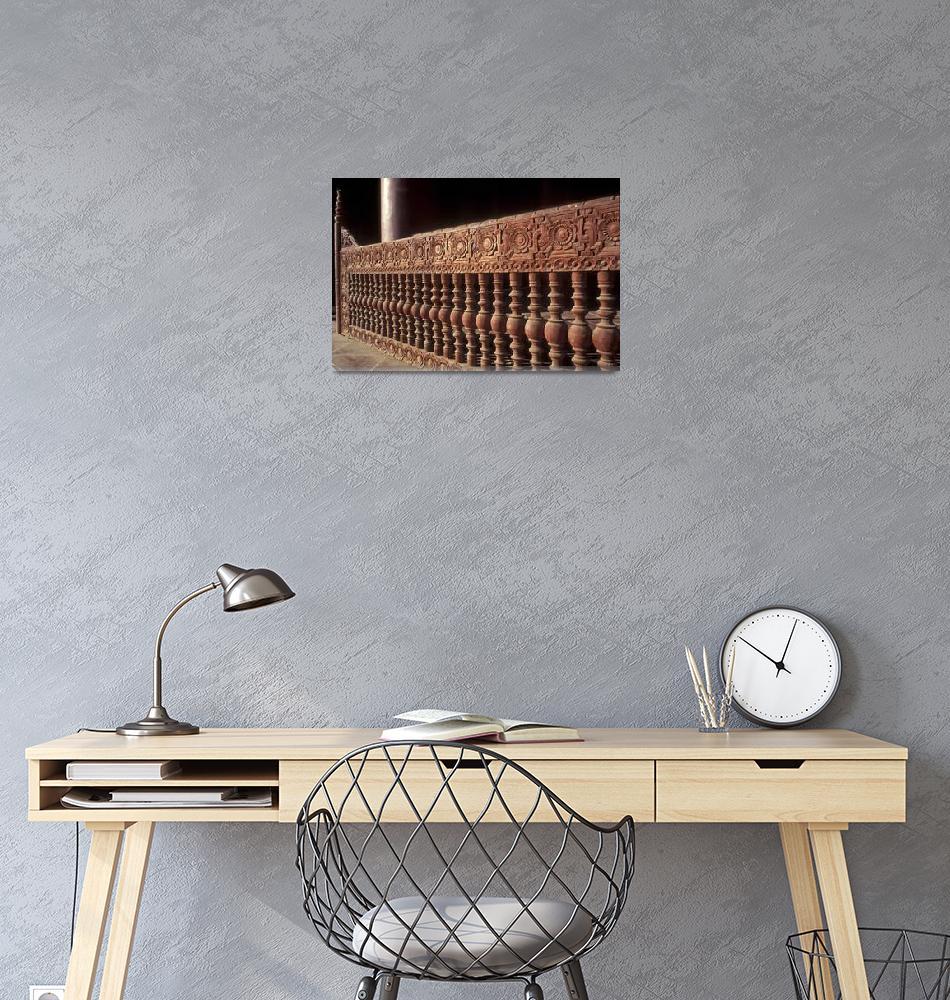 """Wooden railing""  by sostroff"