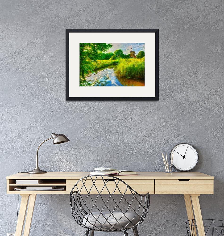 """Willen Collection Framed Print""  by buddakats1"