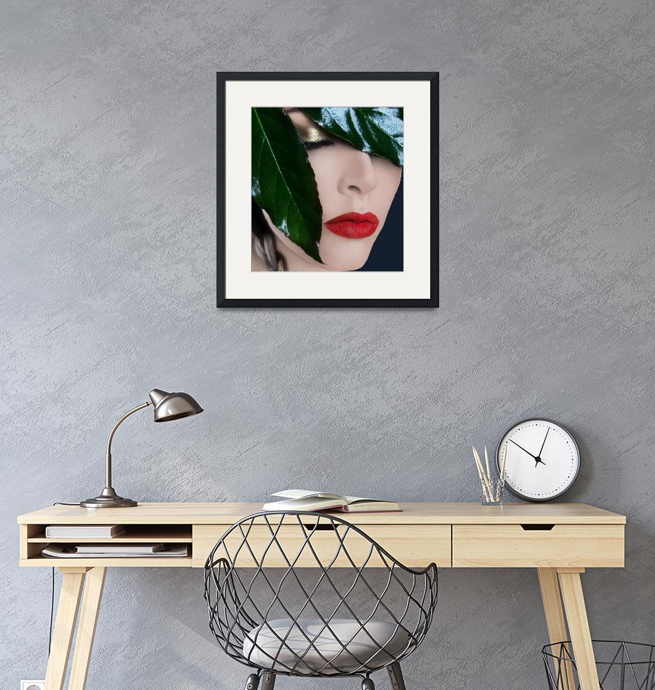 """""""Red lips""""  (2011) by NoraJane"""