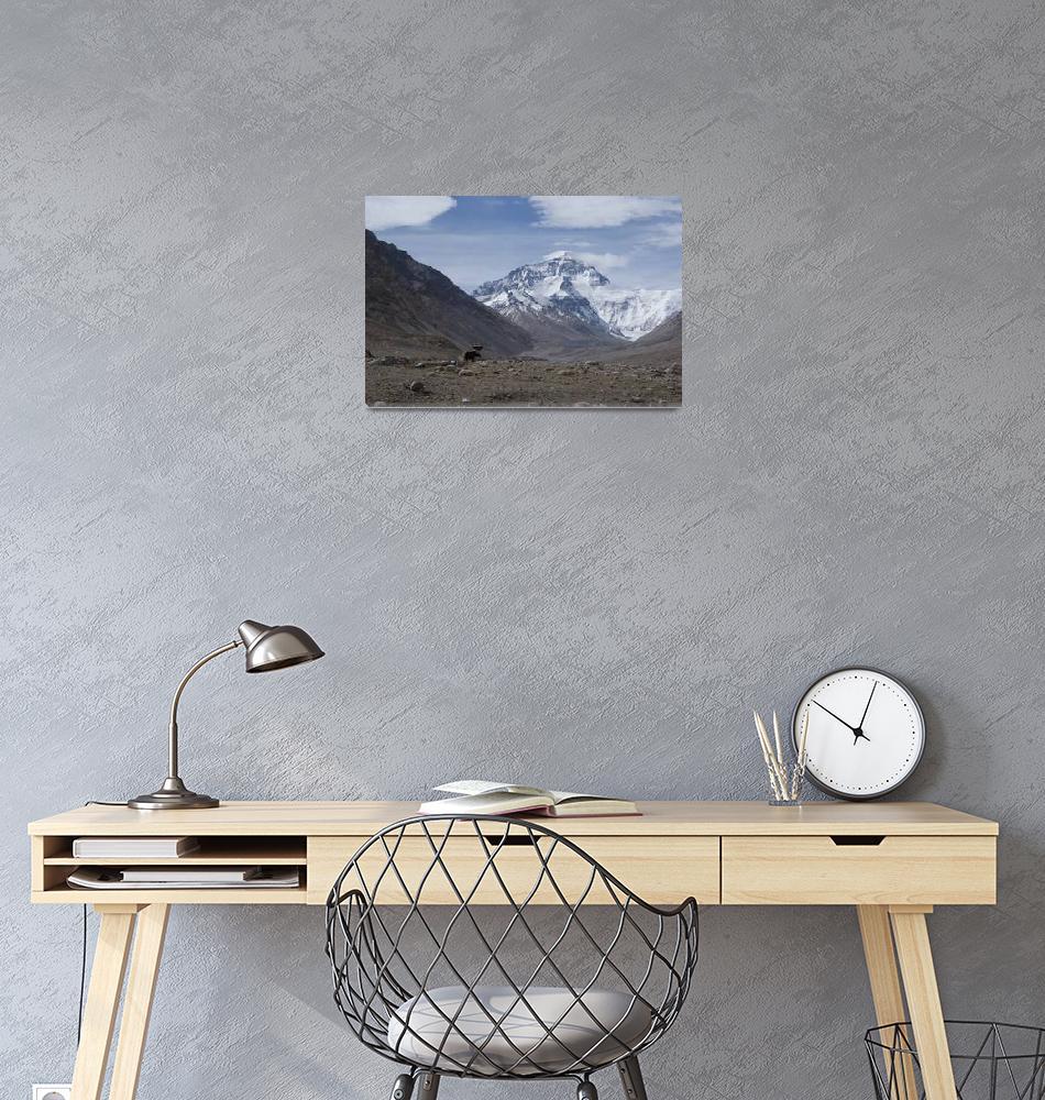 """Mount Everest""  (2018) by SherylP"