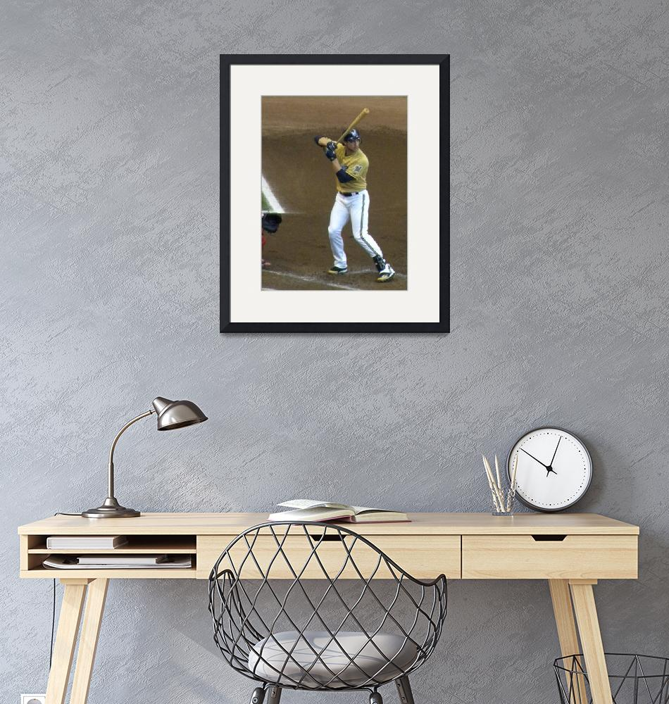 """""""Braun at the plate""""  (2011) by LuvDaPack"""