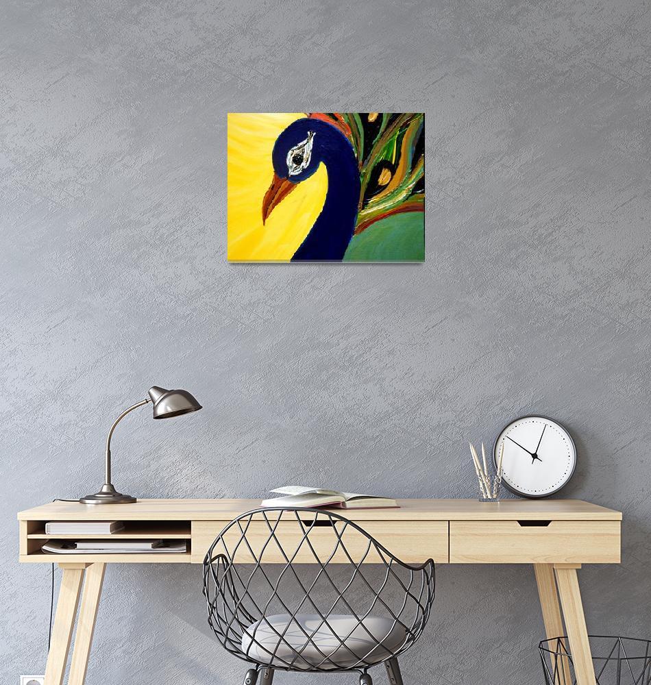 """""""Peacock""""  (2012) by KrutisKreations"""