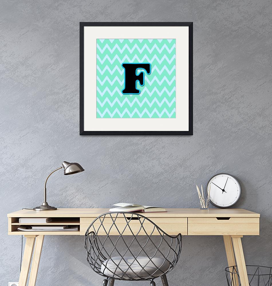 """""""Letter F""""  (2015) by paintingsbygretzky"""