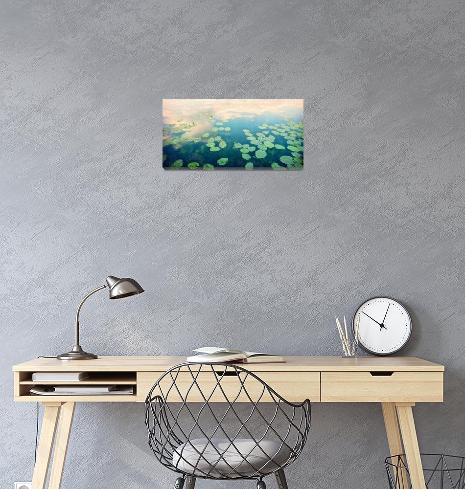 """waterlilies home""  by Piri"