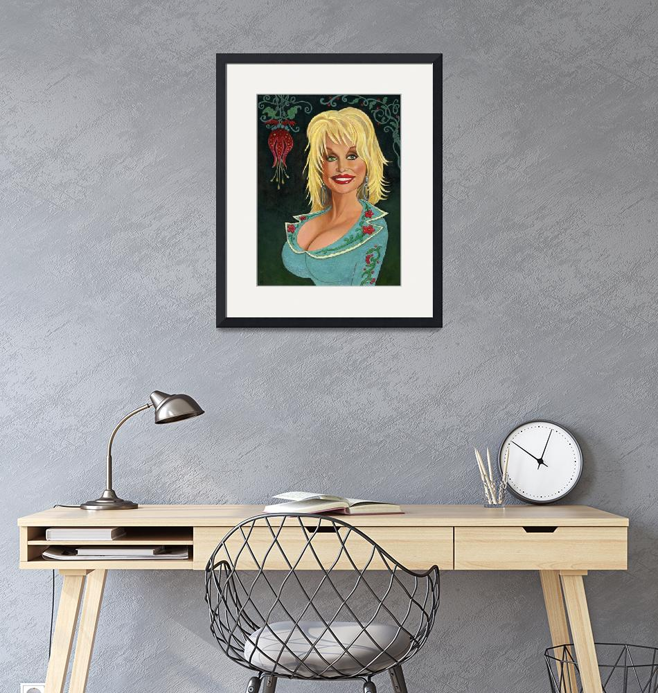 """""""Portrait of Dolly Parton""""  (2009) by 14"""
