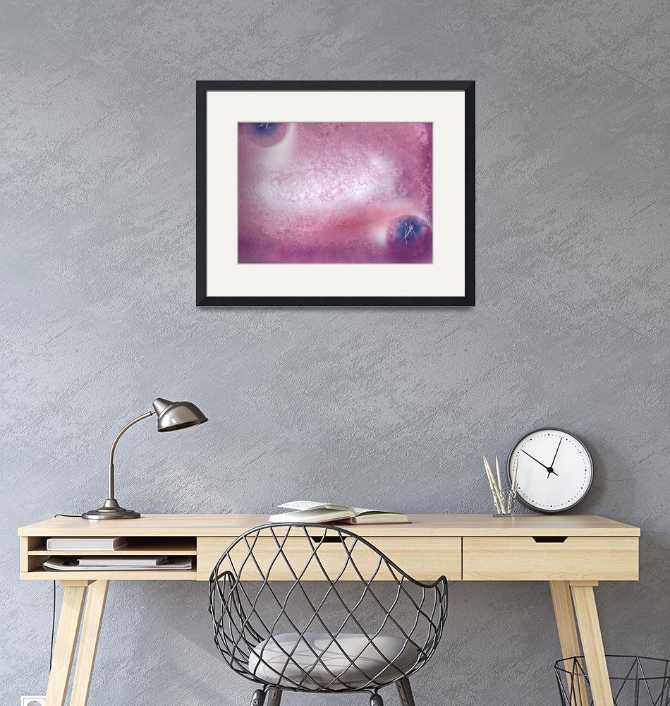 """""""space in pink"""" (2009) by izzart"""