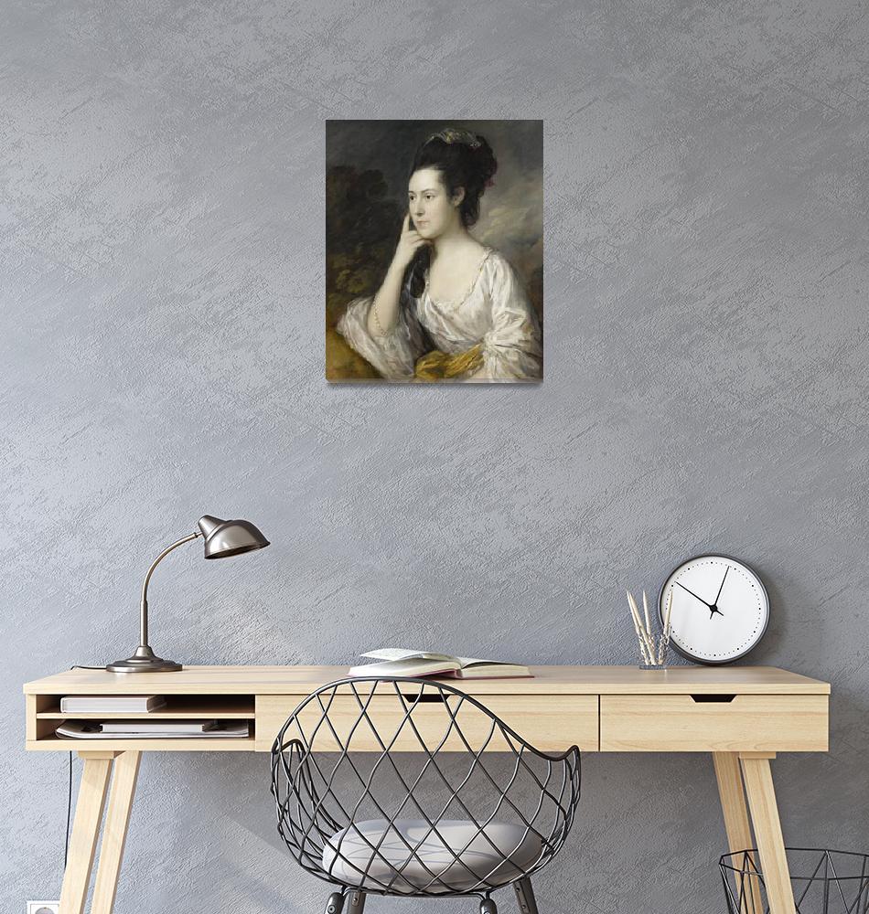 """""""Thomas Gainsborough~Sarah Rowlls Chad""""  by Old_master"""
