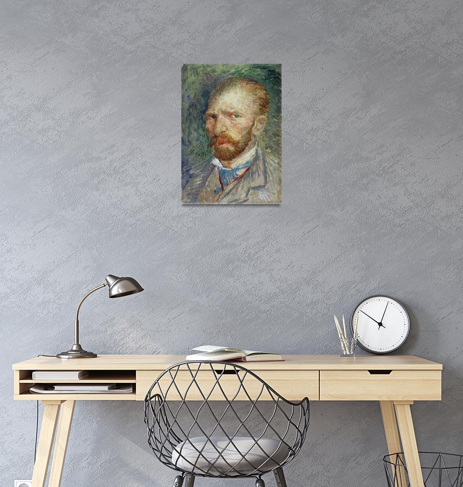 """Self Portrait by Vincent van Gogh""  by fineartmasters"